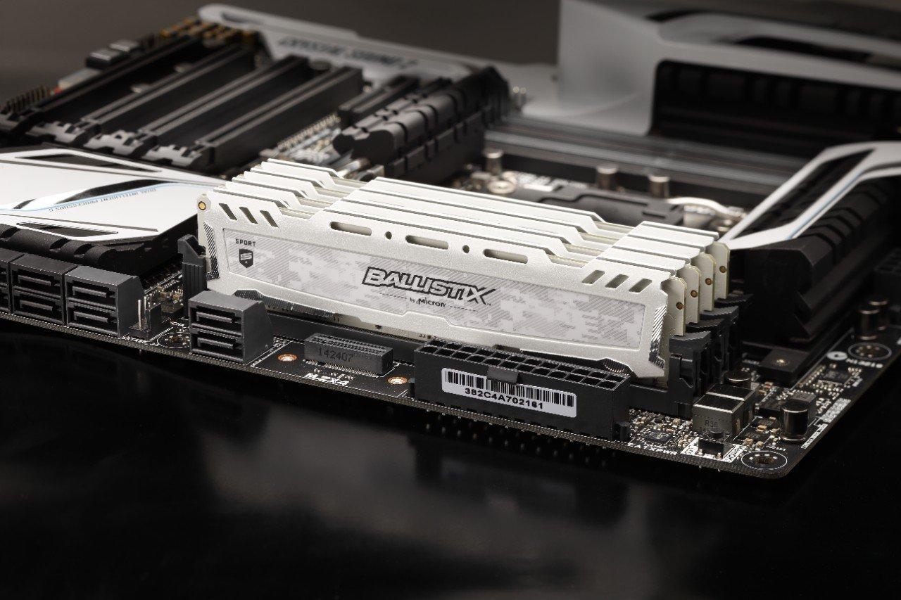 זכרונות DDR4 איכותיים של Crucial במחיר הנמוך ביותר