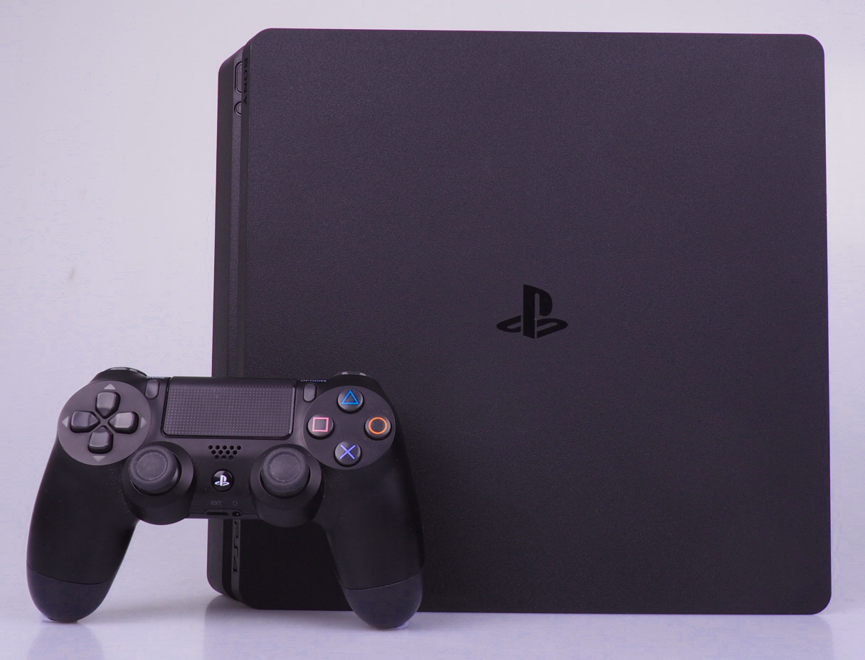 PlayStation 4 console with 1TB drive