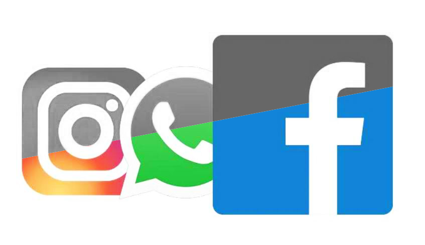 """Photo of """"Half a glitch"""" on Facebook social networks"""