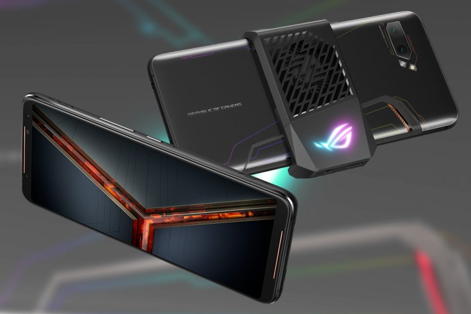 We haven't seen a photo of this before: The ROG Phone 2 wants to be the perfect smartphone