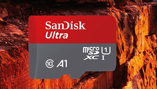 SanDisk 400GB microSD card at half the price in the country