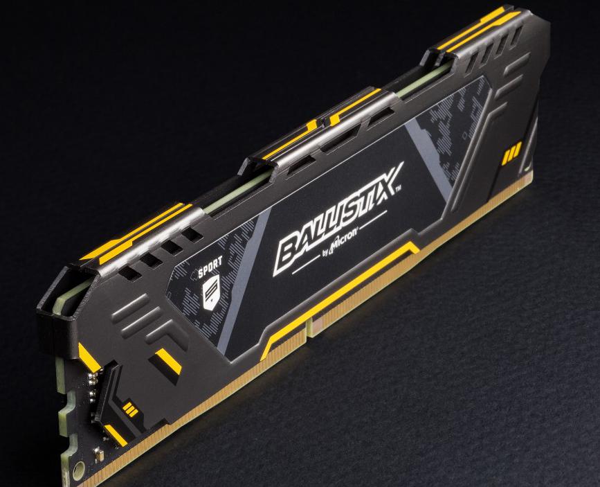 זכרונות DDR4 16GB קשוחים של מיקרון