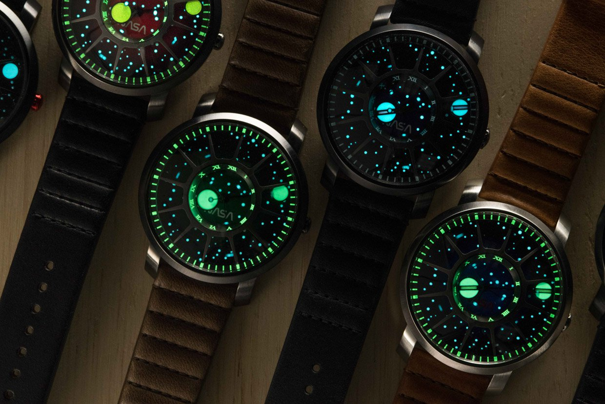 Photo of the space agency watches that blockbuster on Kickstarter
