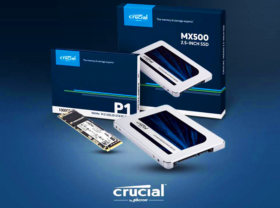 Photo of Micron SSDs at great promotional prices