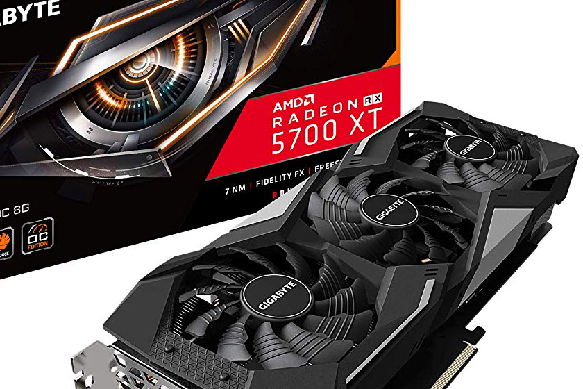 Photo of Gigabyte's first rushed Radeon RX 5700 XT model unveiled on Amazon