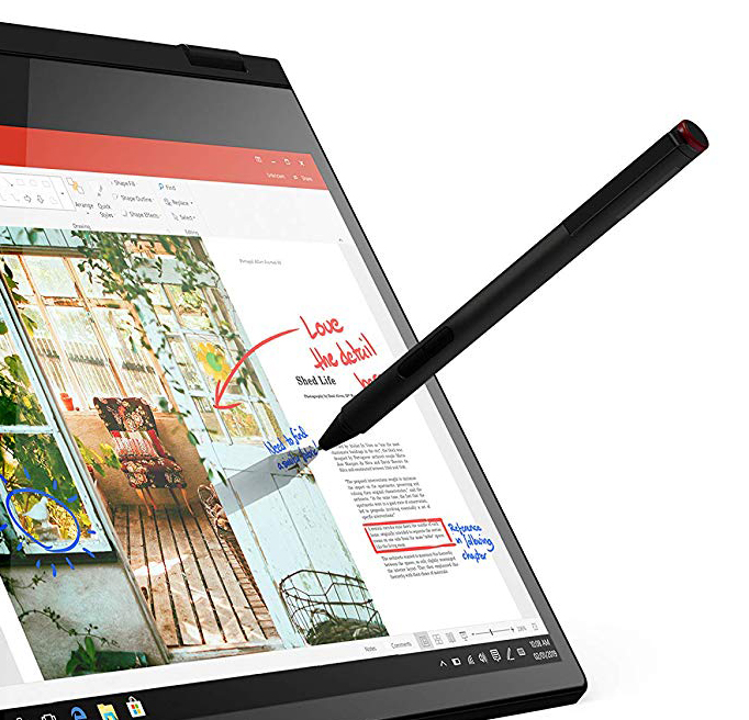 The hybrid mobile has a touch pen at a great price