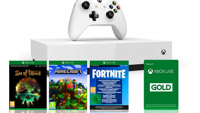 Photo of Now on the Web: Up-to-date Xbox One S console with three exciting games
