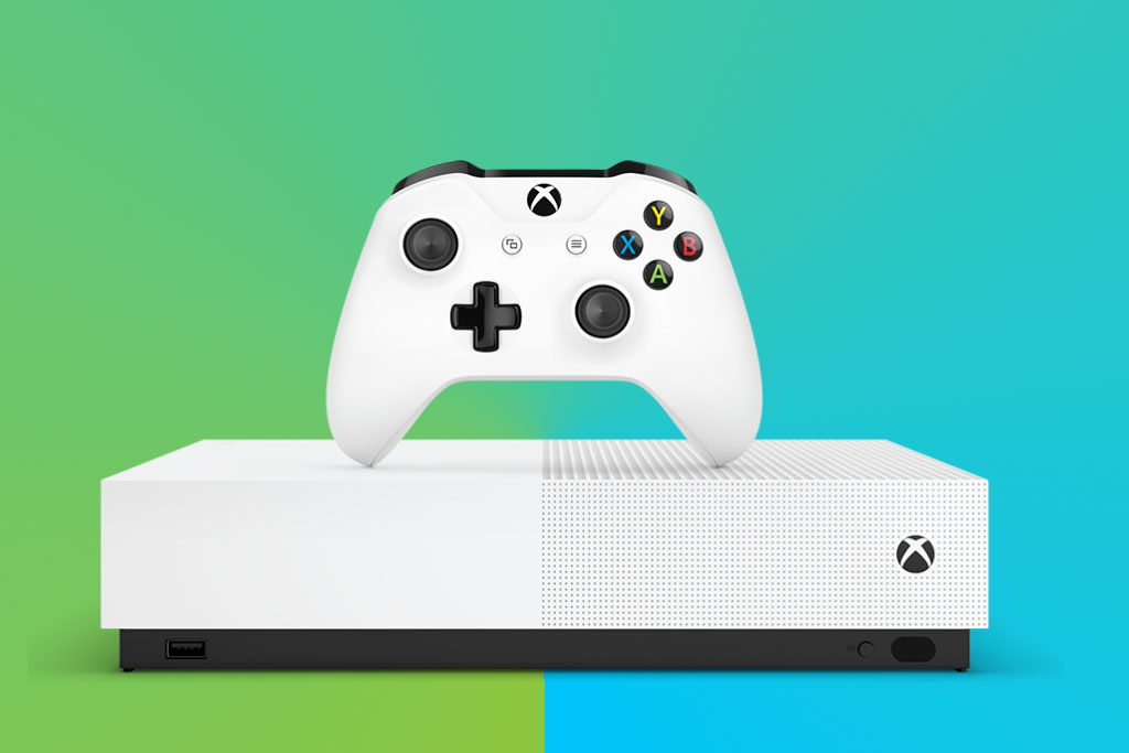 Xbox One S All Digital console with three low-cost titles