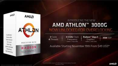 Photo of דגם להמונים וגם צעצוע לשאפתנים: מעבד Athlon חדש של AMD צמא לאוברקלוקינג