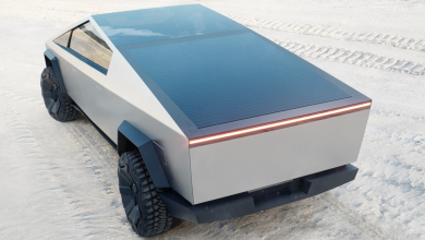 Photo of both Earth and Mars: Tesla's futuristic van makes the grid fog