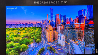 Photo of the monsters: 8K TVs the size of a whole wall
