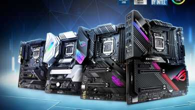 Photo of you order: Complete details on all Asus Z490 boards
