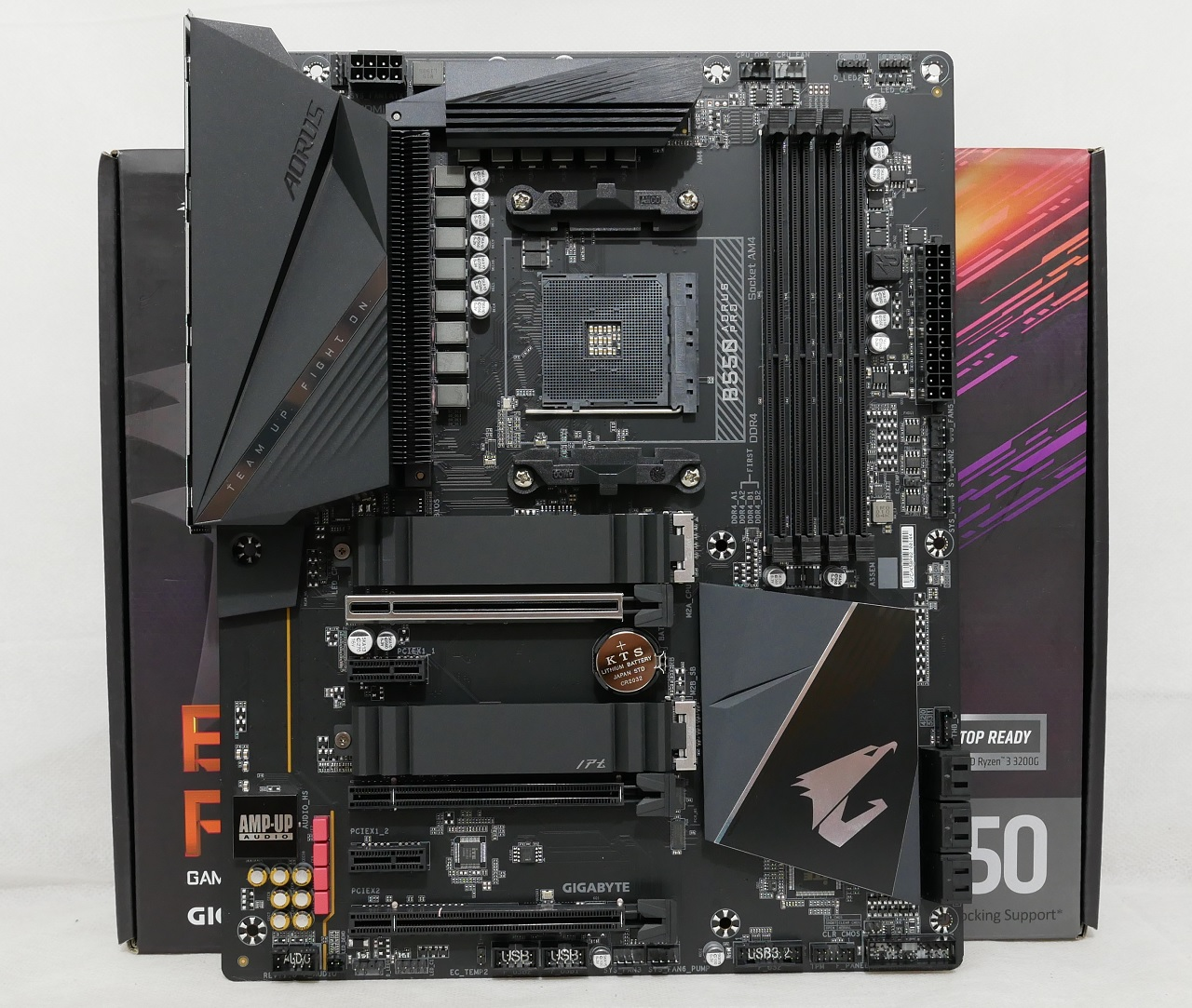 Gigabyte B550 Aorus Pro Motherboard In Review Great Midway Location Hwzone