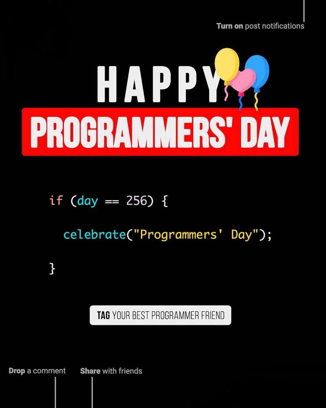 Happy Programmers Day!