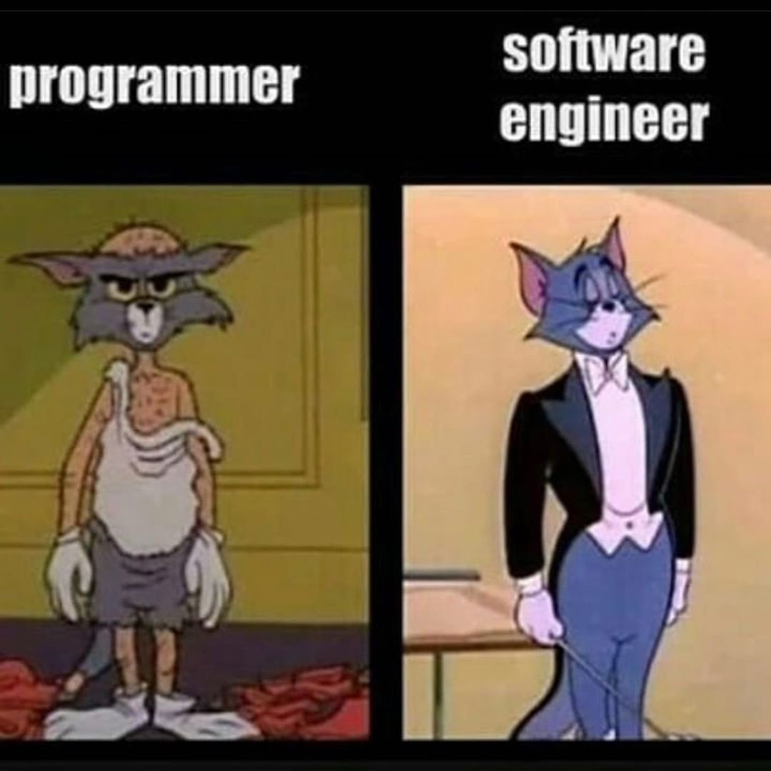 The difference between a programmer and a software engineer