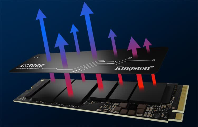 קינגסטון מזנקת קדימה עם כונני SSD ראשונים ב-PCI-Express 4.0